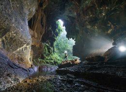 Gigiantic Tiger cave entrance